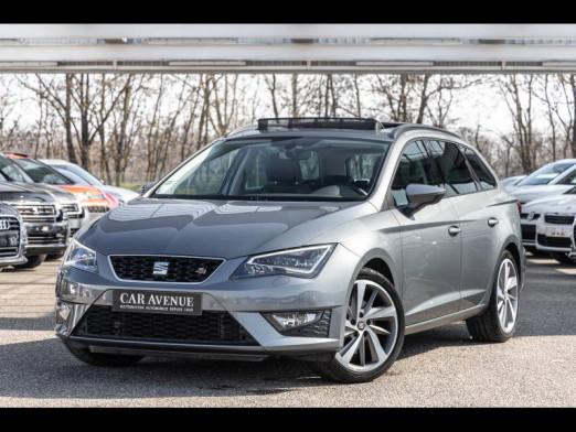 Occasion SEAT Leon ST 2.0 TDI 184 FR DSG Gps Toit pano Seat Sound Garantie 1 an 2016 Gris Pyrénéen 19490 € à Mulhouse