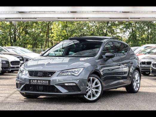 Occasion SEAT Leon 1.8 TSI 180 FR DSG Toit Ouvrant Gps Led Chargeur Induction Garantie 1 an 2017 Gris Pyrénéen 20990 € à Mulhouse