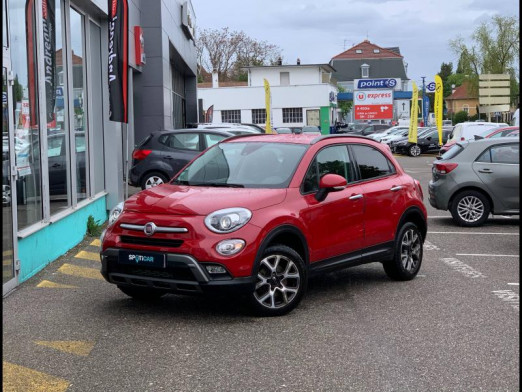 Used FIAT 500X 2.0 Multijet 140 Cross+ 4x4 gps attelage xenon garantie 1 an 2016 rouge Amore tri-couche € 13,890 in Mulhouse