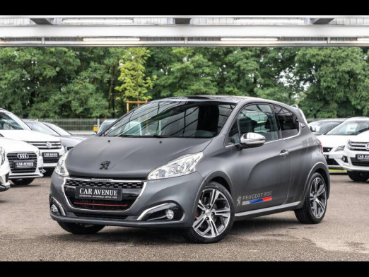 Used PEUGEOT 208 1.6 THP 208 GTi by Peugeot Sport 3p Gps Camera Toit pano Garantie 1 an 2016 Ice Silver € 17,890 in Mulhouse