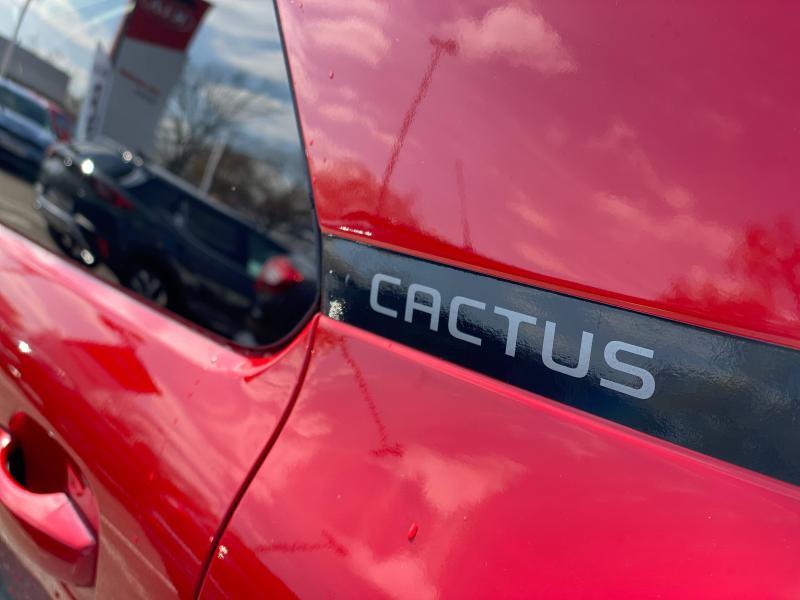 Occasion CITROEN C4 Cactus PureTech 110 Shine gps camera carplay 12151kms Garantie 1 an 2019 Rouge Aden (O) 15390 € à Mulhouse