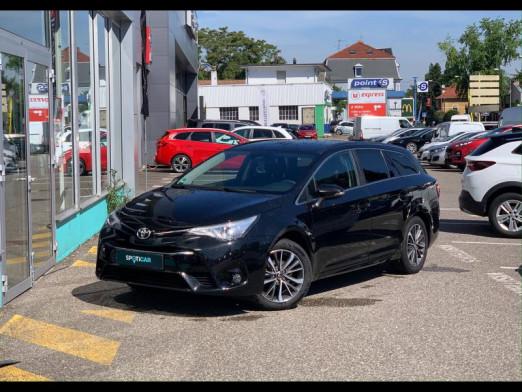 Used TOYOTA Avensis Touring Spt 147 VVT-i Dynamic bva gps camera garantie 1 an 2017 Noir métallisé € 18,589 in Mulhouse
