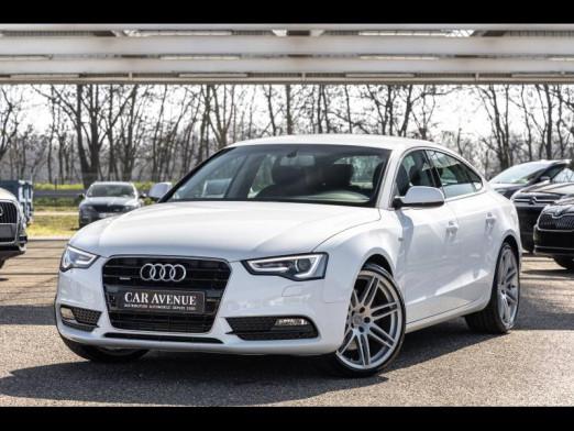 Occasion AUDI A5 Sportback 3.0 V6 TDI 245 quattro S tronic 7 Gps Xenon garantie 1 an 2015 Blanc glacier 27990 € à Mulhouse