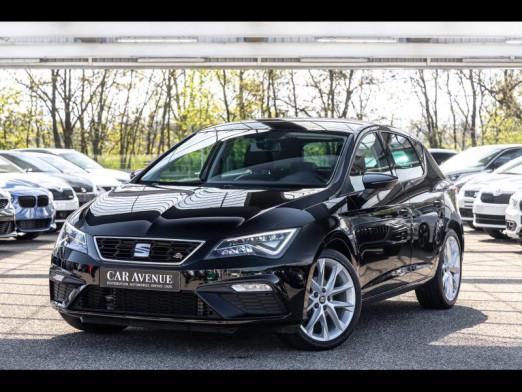 Occasion SEAT Leon 1.4 TSI 150FR DSG7 Garantie 1an 2018 Noir Minuit 19990 € à Colmar