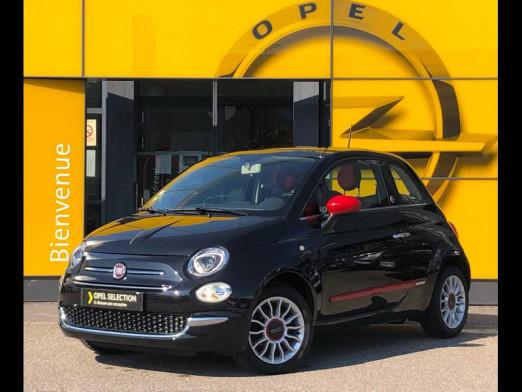Used FIAT 500 1.2 8v 69 Rosso Amore Edizione TO 2016 Noir € 10,490 in Colmar