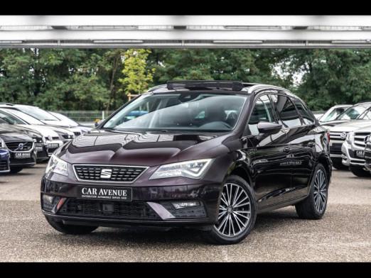 Occasion SEAT Leon ST 2.0 TDI 184 ST Xcellence  Gps Acc T ouvrant 2017 Aubergine 18490 € à Colmar