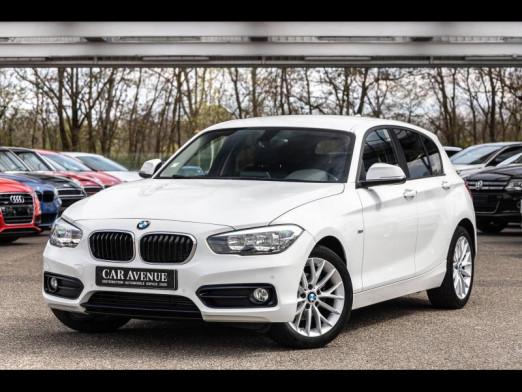 Occasion BMW Série 1 116d 116 Sport Gps Caméra Clim auto Garantie 1 an 2015 Blanc 16990 € à Sélestat