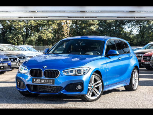 Occasion BMW Série 1 118iA 136 type M Sport Full Leds Gps Sièges chauffants 2015 Estorilblau 20490 € à Sélestat
