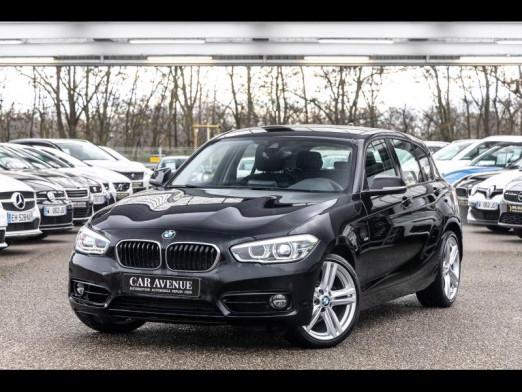 Occasion BMW Série 1 118iA 136 Sport GPS Led Radar Clim Gtie 1 an 2017 Schwarz 19490 € à Rosheim