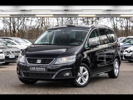 Occasion SEAT Alhambra 2.0 TDI 184 DSG Clim GPS Camera Pack hiver Gtie 1 an 2015 Noir Intense 22490 € à Rosheim