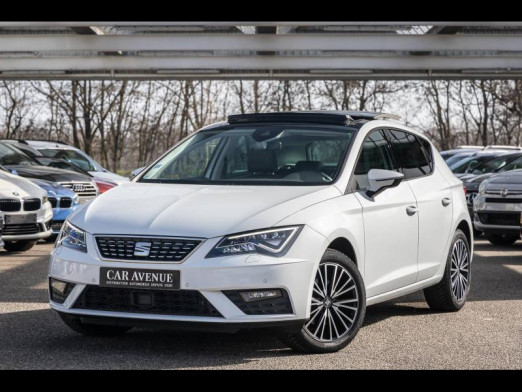 Occasion SEAT Leon 1.4 TSI 150 ACT Xcellence DSG Start&Stop GPS ACC Full Led T.O. Gtie 1 an 2017 Blanc Candy 18490 € à Rosheim