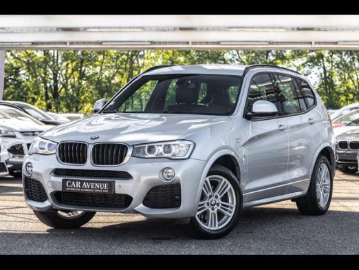 Occasion BMW X3 xDrive20dA 190 GPS Xenon Jantes M Radar AV/AR Régulateur Garantie 1 an 2015 Spacegrau 27490 € à Rosheim