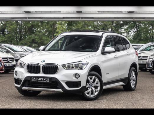 Occasion BMW X1 xDrive20dA 190 Sport 1ère main Harman Kardon T.O. Radar AV/AR Régulateur GPS Attelage Garantie 1 2015 Mineralweiss 23990 € à Rosheim