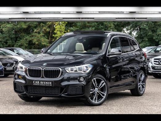 Used BMW X1 xDrive25dA 231 M Sport T.O. Affichage tête haute Caméra Siège chauffant Régulateur Cuir garantie 2017 Saphirschwarz € 29,990 in Rosheim