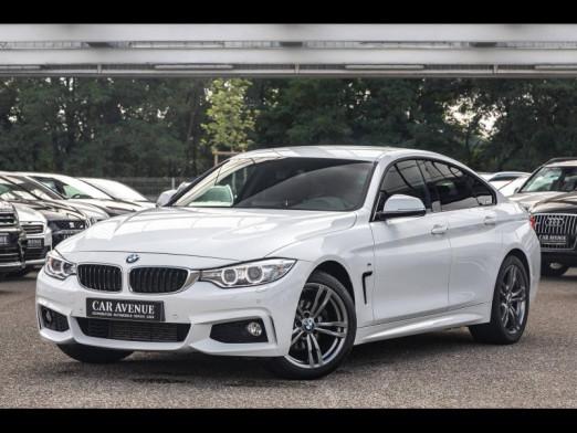 Occasion BMW Série 4 Gran Coupé 420dA xDrive 190 M Sport Radar AV/AR Régulateur Siège électrique GPS Clim Garanti 2015 Blanc 27990 € à Rosheim