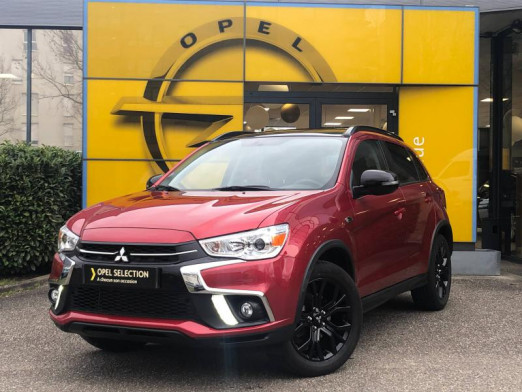 Occasion MITSUBISHI ASX 1.6 MIVEC 117 Black Collection 2WD Carplay camera Gtie 1an 2019 Orient Red 19990 € à Strasbourg