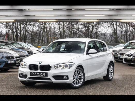 Occasion BMW Série 1 118 iA 136 BVA Lounge GPS 66000 km Gtie 12 mois 2015 Blanc 16990 € à Strasbourg