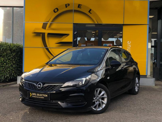 Occasion OPEL Astra Turbo 130 Elegance Carplay 4500 km Garantie 1 an 2020 Noir Profond 18990 € à Strasbourg