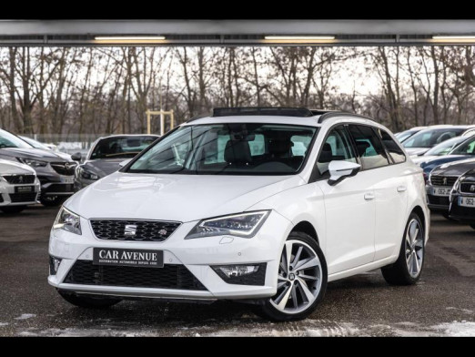 Occasion SEAT Leon 1.8 TSI 180 FR DSG GPS Garantie 1 an 2016 Blanc Nevada 17990 € à Strasbourg