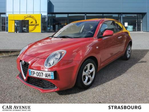 Occasion ALFA ROMEO MiTo 1.4 78  Stop&Start - bluetooth - garantie 1 an 2017 Rouge 9990 € à Strasbourg