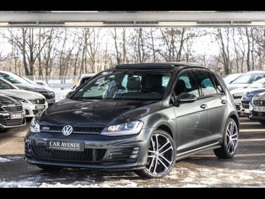 Occasion VOLKSWAGEN Golf 2.0 TDI 184 GTD DSG GPS/XENON/TO Gtie 1an 2017 Noir Intense 24989 € à Oberhausbergen
