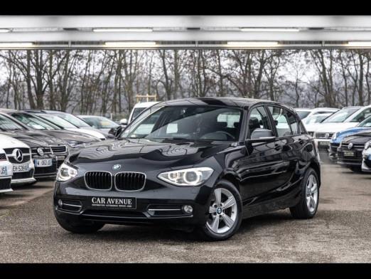 Occasion BMW Série 1 118d 143 5p Xénon Gtie 1an 2014 Saphirschwarz 16989 € à Oberhausbergen