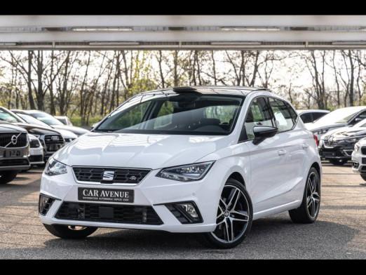 Occasion SEAT Ibiza TSI 115 FR  - Carplay/Android Auto/TO - garantie 1 an 2018 Blanc Candy 16990 € à Oberhausbergen