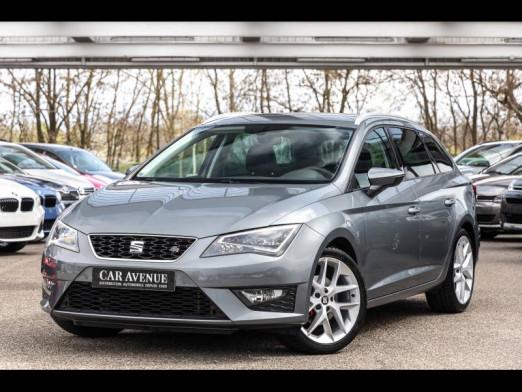 Used SEAT Leon ST 1.4 TSI 125 ACT FR GPS Clim Auto garantie 1 an 2017 Bleu € 17,390 in Oberhausbergen