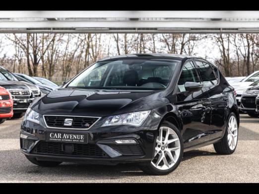 Occasion SEAT Leon TSI 125 FR GPS Navigation garantie 1 an 2017 Noir Minuit 15490 € à Oberhausbergen