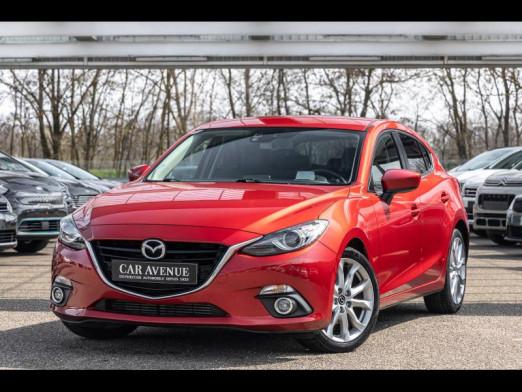 Occasion MAZDA Mazda 3 2.2 D 150 Sports Line BVA Bose Tete Haute Gps 2016 Soul Red Métallisé 16990 € à Haguenau