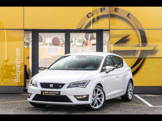 Occasion SEAT Leon 1.4 TSI 150 FR Led gps seat sound Gtie 1 an 2016 Blanc 15990 € à Monswiller