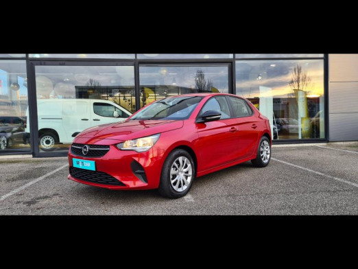 Occasion OPEL Corsa 1.5 D 100 Edition GPS CARPLAY CAMERA 2020 Rouge Piment 16700 € à Monswiller