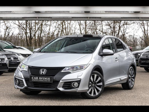 Occasion HONDA Civic 1.6 i-DTEC 120 Executive Gps Camera Xenon Garantie 1 an 2017 Argent Alabaster 15 990 € à Monswiller