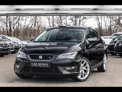 Used SEAT Leon 1.8 TSI 180 FR Gps Seat sound Garantie 1 an 2016 Noir Minuit € 17,880 in Monswiller