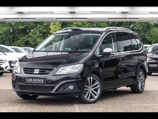 Occasion SEAT Alhambra 2.0 TDI 184 FR-LINE DSG 7pl Gps Xenon Attelage Garantie 1 an 2018 Noir Intense 28490 € à Monswiller