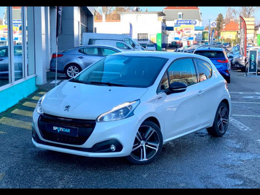 Used PEUGEOT 208 1.6 BlueHDi 120 GT Line 3p gps camera carplay 2017 NON CODIFIE € 11,490 in Mulhouse