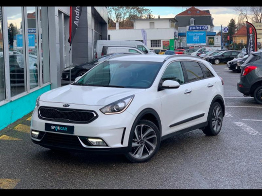 Used KIA Niro 105 + 43.5 électrique Active DCT6 gps camera 2017 BLANC € 18,490 in Mulhouse