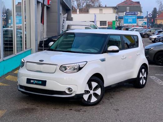 Used KIA Soul EV EV 110 30 kWh gps camera gtie 2025 tva recup 2018 WHITE € 18,490 in Mulhouse