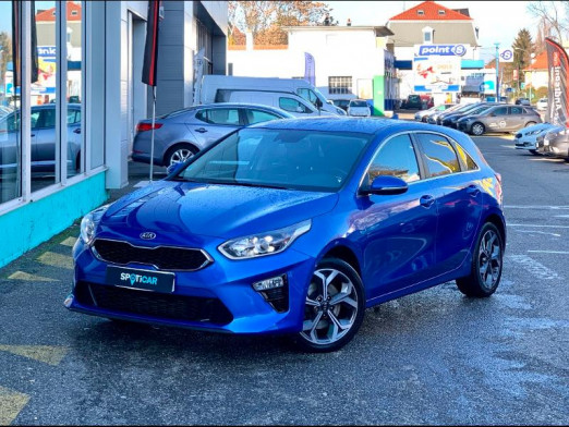 Used KIA Ceed 1.4 T-GDI 140 Edition 1 DCT7 gps camera gtie 2025 2018 Bleu € 18,490 in Mulhouse