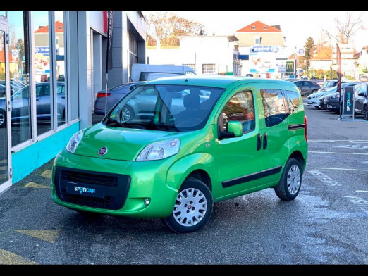 Used FIAT Qubo 1.3 Multijet 16v 75 Italia clim attelage 2015 Vert € 7,490 in Mulhouse