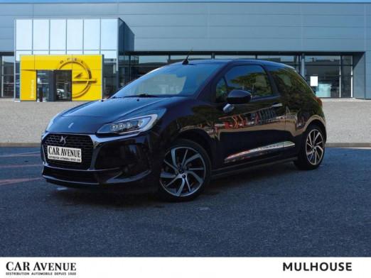 Occasion DS DS 3 Cabrio PureTech 110 Sport Chic Bva Camera Gps Carplay Pack faubourg Garantie 1 an 2016 Whisper (N) 12990 € à Mulhouse