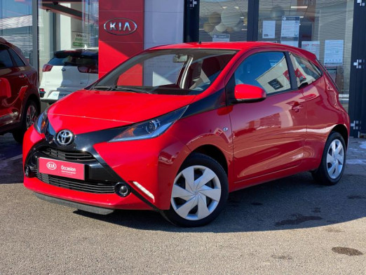 Occasion TOYOTA Aygo X-red 69 28023 kms 3p Gtie 12 mois 2018 Rouge 7490 € à Colmar