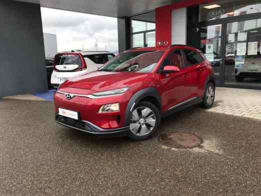 Occasion HYUNDAI Kona Electric 204 Creative Cam Gps CarPlay Garantie 2024 2019 Pulse Red 25490 € à Colmar