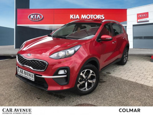 Occasion KIA Sportage 1.6 CRDi 115 Mhev Active Gps Cam Carplay Garantie2027 2020 Rouge Rubis 24490 € à Colmar