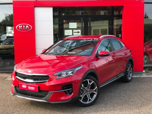 Occasion KIA XCeed 1.0 T-GDI 120 Gps camera 8500km Gtie 2026 2019 Rouge Rubis 21 489 € à Monswiller