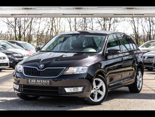 Occasion SKODA Rapid 1.4 TDI 90 STYLE BVA Gps Garantie 1 an 2016 Noir Magic Nacré 12 490 € à Mulhouse