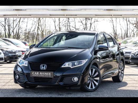 Occasion HONDA Civic 1.8 Elegance142 Gps  Garantie 1 an 2015 Noir Cristal 15990 € à Mulhouse