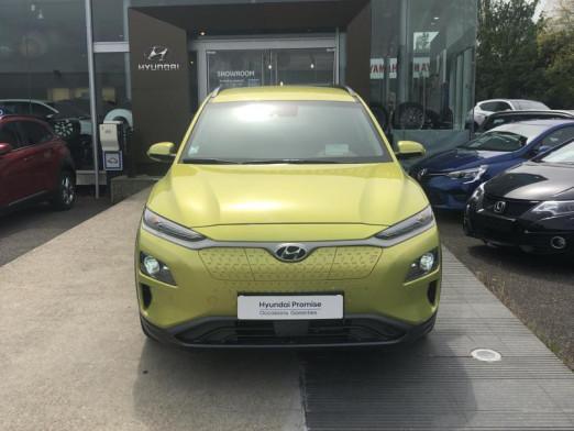 Occasion HYUNDAI Kona Electric  Executive  Cam Recul Affich Tête Haute Garantie 2024 2019 Acid Yellow 26990 € à Mulhouse