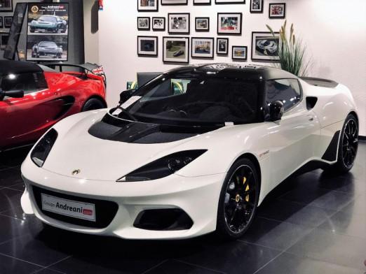 Occasion LOTUS Evora GT 410 Sport BVA 2019 BLANCHE 112990 € à Mulhouse