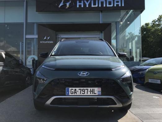 Occasion HYUNDAI Bayon 1.0 T-Gdi 100ch Executive Hybrid 48V DCT-7 2021 Mangrove Green 23990 € à Mulhouse
